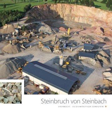 Steinbruch von Steinbach - Pierres & Marbres de Wallonie