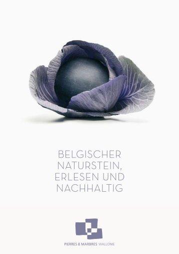 Belgischer NatursteiN, erleseN uNd Nachhaltig - Pierres & Marbres ...