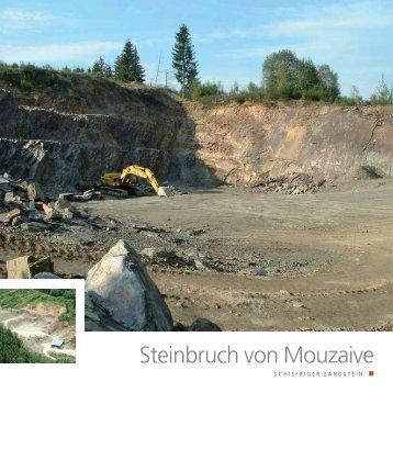 Steinbruch von Mouzaive - Pierres & Marbres de Wallonie