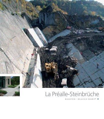 La Préalle-Steinbrüche - Pierres & Marbres de Wallonie