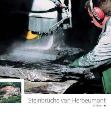 Steinbrüche von Herbeumont - Pierres & Marbres de Wallonie