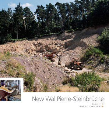 New Wal Pierre-Steinbrüche - Pierres & Marbres de Wallonie