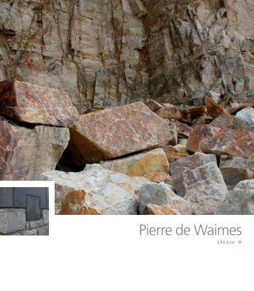 Pierre de Waimes - Pierres & Marbres de Wallonie
