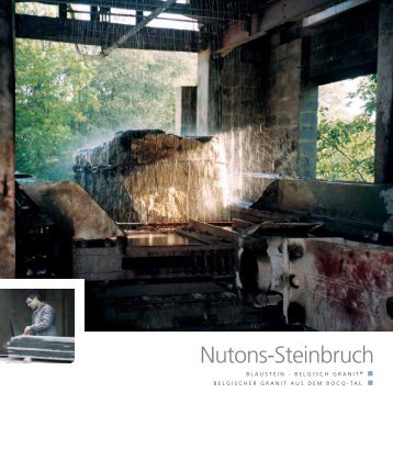 Nutons-Steinbruch - Pierres & Marbres de Wallonie