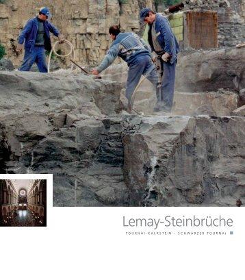 Lemay-Steinbrüche - Pierres & Marbres de Wallonie