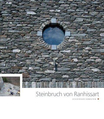 Steinbruch von Ranhissart - Pierres & Marbres de Wallonie