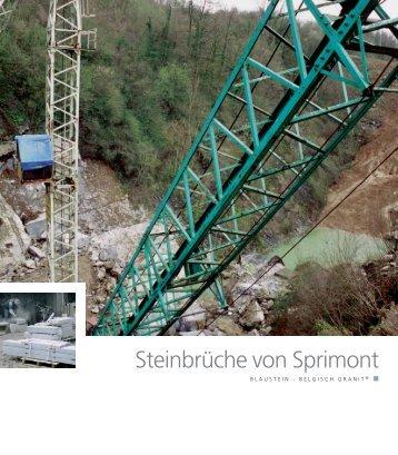 Steinbrüche von Sprimont - Pierres & Marbres de Wallonie