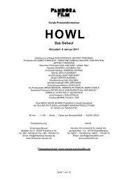 Howl Presseheft - Steinhaus Bautzen