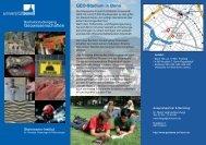Info Folder 2-seitig - Steinmann-Institut für Geologie, Mineralogie ...
