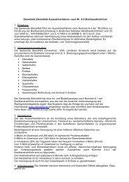 Gemeinde Steinsfeld Auswahlverfahren nach Nr. 6.4 ...
