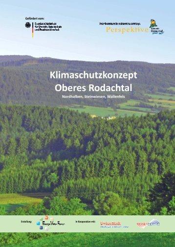 Klimaschutzkonzept Oberes Rodachtal - Markt Steinwiesen