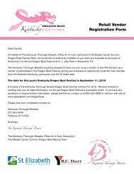 Retail Vendor Registration Form