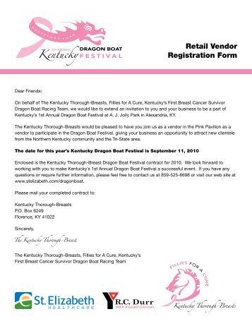 Exhibitor/Food Vendor Registration Form - Lake County