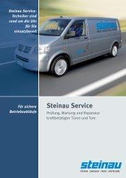 Steinau-Service und Wartung als PDF (1,3 MB)
