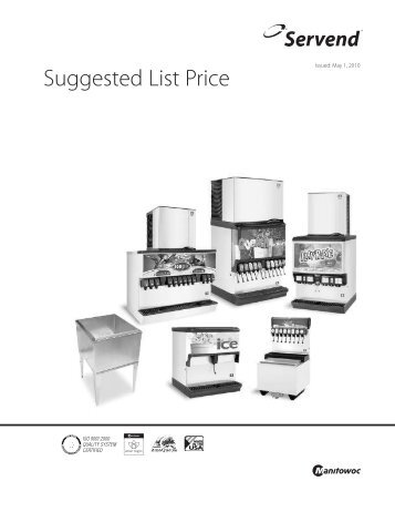 Servend Suggested List Price - Easy Maintenance Solutions, Inc.