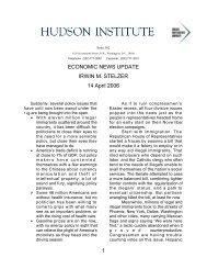 Four issues 14-04-06.pdf - Irwin Stelzer