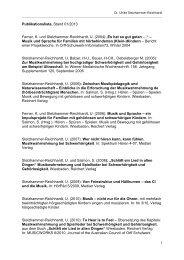 Publikationsliste Stand 02/2013