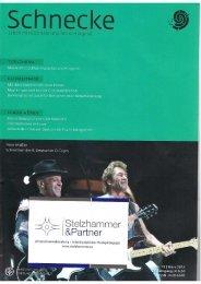 Schnecke März 2013: Miteinander sprechen, singen, musizieren
