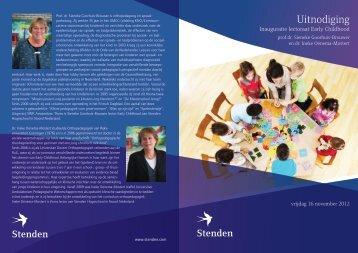 Uitnodiging - Stenden Hogeschool