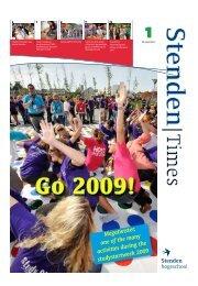 Nummer 1, 28 september 2009 - Stenden Hogeschool