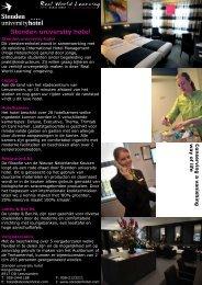 flyer van het Meet & Greet arrangement