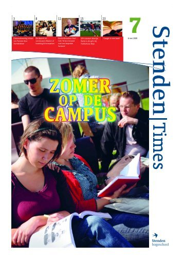 Nummer 7, 6 mei 2009 - Stenden Hogeschool