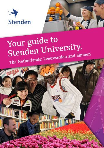 Your guide to Stenden University,