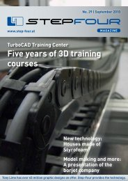 Five years of 3D training courses - Step four