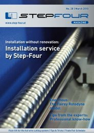 Installation service by Step-Four Tips from the experts