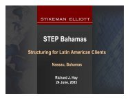 Structuring for Latin American Clients - STEP