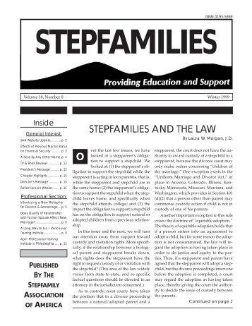 national stepfamily resource center essay
