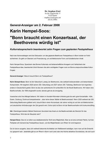 02.02.2008 Hempel-Soos - Stephan Eisel