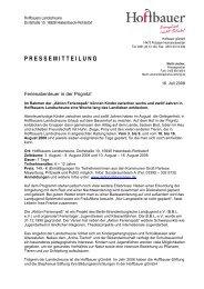 Hoffbauers Landscheune - Stephanus-Stiftung