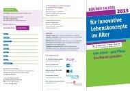 Berliner Fachtag für innovative lebenskonzepte im alter - Stephanus ...