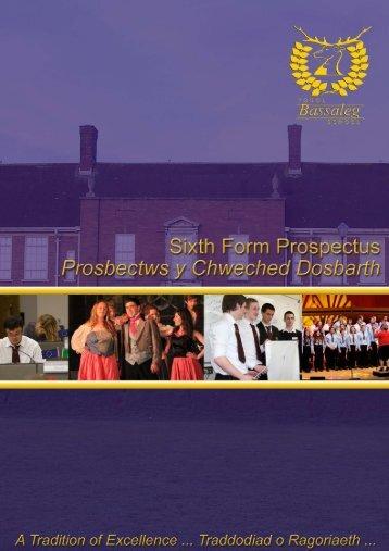 Sixth Form Prospectus 2013 - 2015