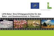 Broschüre LIFE Projekte in Österreich - Life Natur Vernetzung ...