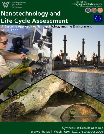 Nanotechnology and Life Cycle Assessment: A Systems Approach