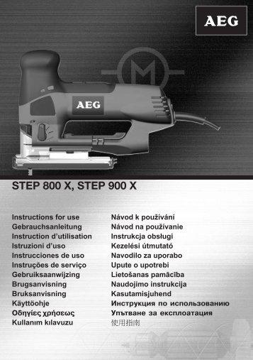 STEP 800 X, STEP 900 X - energeia.gr