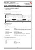 VANILIE 427337-SDS-4.pdf - Stera Chemicals - Page 5