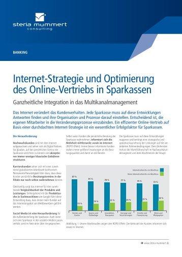 Internet-Strategie und Optimierung des Online-Vertriebs in ... - Steria