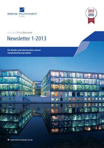 Newsletter I-2013 - Steria