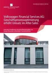 Volkswagen Financial Services und Steria (PDF)