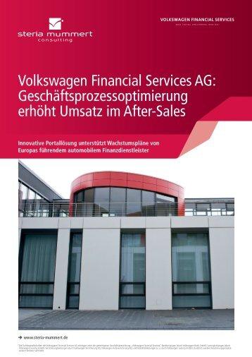 Volkswagen Financial Services und Steria (PDF)