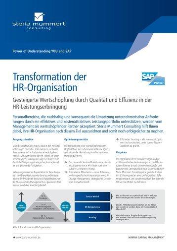 Transformation der HR-Organisation (PDF) - Steria