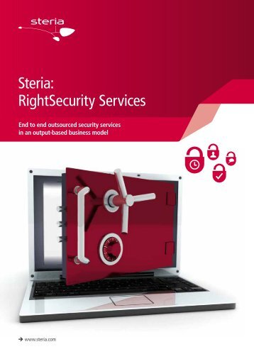 Right Security services brochure - Steria