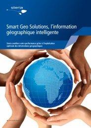 Smart Geo Solutions, l'information géographique intelligente - Steria