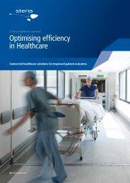 Optimising efficiency in Healthcare - Steria