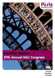Exhibitor Manual 27th Annual EAU Congress