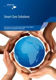 Smart Geo Solutions - Steria