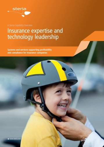 Insurance expertise and technology leadership - Steria